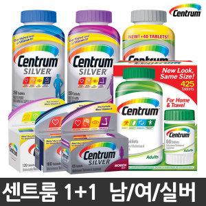 1+1 센트룸 종합비타민 성인/남/여/실버