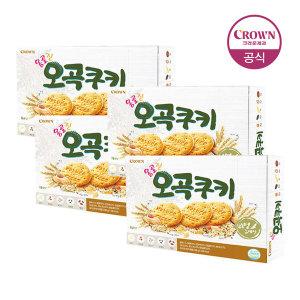 [크라운] 옹골진 오곡쿠키 2번들 384g  X 2BOX(768g)