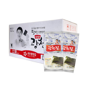 [광천김] 달인 김병만의 광천김 파래도시락김 72봉