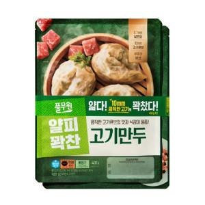 풀무원 얇은피 꽉찬속 고기 만두 400gx2