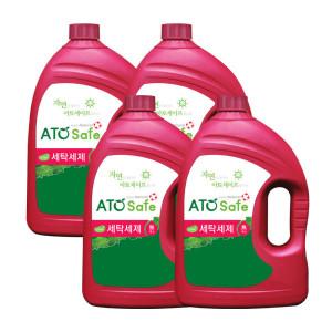 아토세이프 세탁세제(3.1L 4개)/중성/액체