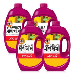 [아토세이프] 아토세이프 집먼지 진드기 세탁세제 (2.5L 4개)/중성