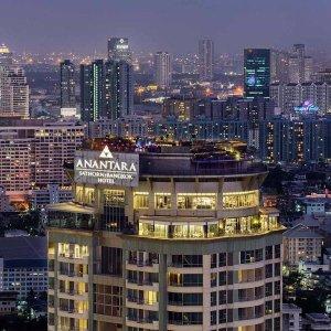 |10프로카드할인||방콕| 아난타라 사톤 (5성급) 호텔 5일 {레이트 체크아웃+공항픽업}