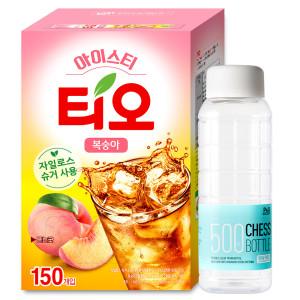 [1,000원쿠폰]티오 아이스티 복숭아맛150T