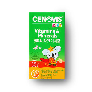 [세노비스]키즈 멀티비타민 (90정/45일분)+특가+증정