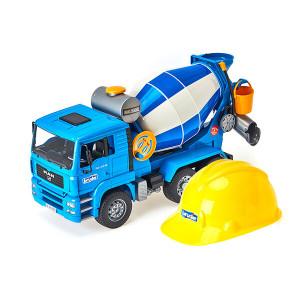 맨 시멘트믹서와 헬멧 세트
