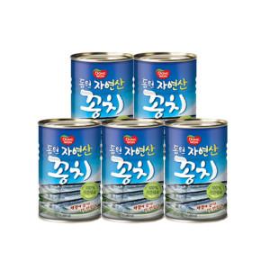 [12%쿠폰] 동원 꽁치 400g 5캔
