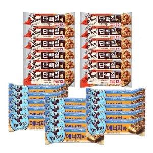 [닥터유] 오리온 닥터유  에너지바40g 15+단백질바50g 12