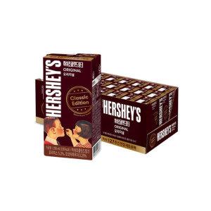 [허쉬] 허쉬드링크 초콜릿 190ML 24팩