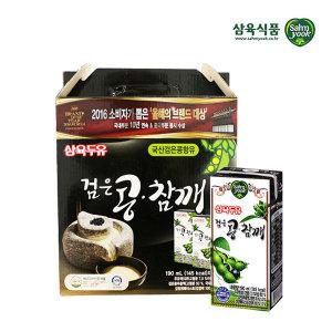 삼육 검은콩참깨두유 190ml 32팩/쿠폰가 12,900