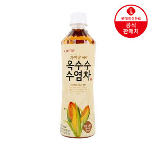 [롯데칠성] 오늘의차 옥수수 수염차 500ml 15병