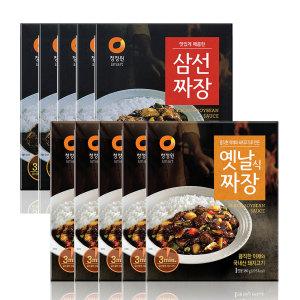 [15%쿠폰] 청정원 옛날짜장5개+삼선짜장5개