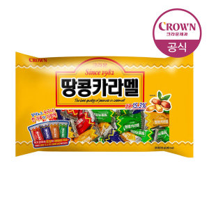 [크라운] 땅콩카라멜 720g