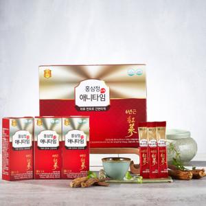 [종근당] 6년근 홍삼정스틱 애니타임 1박스 쇼핑백증정