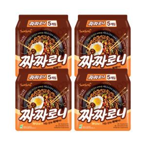 삼양 짜짜로니 4팩 / 140g 20봉