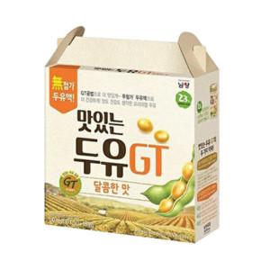 [10%] 맛있는두유GT 달콤 190ml 64입