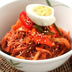 옥천 메밀 냉면10인분+비빔장 500g+겨자소스 5