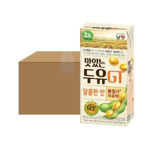 [맛있는두유GT] 맛있는 두유 GT 달콤 190ml 24입