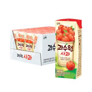 [남양] 과수원 사과 190ml 24입