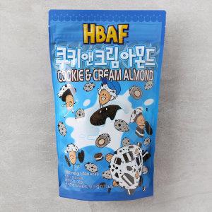 (1+1)길림 쿠키앤크림아몬드 190G 봉
