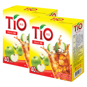 [티오] 티오 아이스티 사과맛 40TX2 총 80T