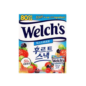 [웰치스] 웰치 후르트스낵 믹스드후르트 80입