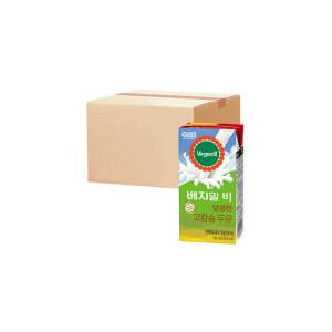 [베지밀] 베지밀B 달콤한 고칼슘두유 190ml x64팩