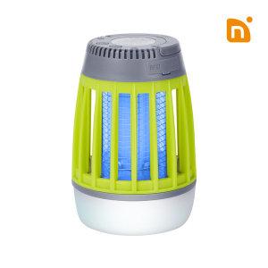 N트랩 휴대용 무선 모기 해충 벌레퇴치기 램프