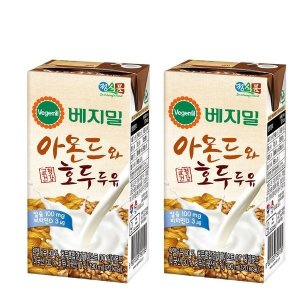[베지밀] 베지밀 아몬드와호두 두유 190ml x 48팩