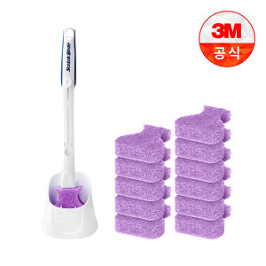 [3M]크린스틱 변기청소 핸들+캐디+리필 베이킹소다톡톡14입