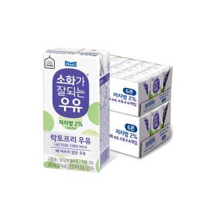 [12%중복]소화가잘되는 저지방우유190ml 48팩