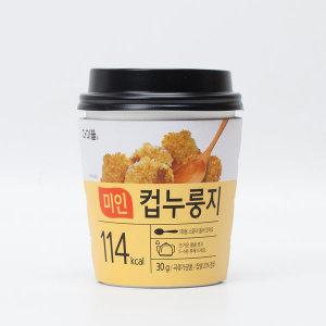 간편식 컵누룽지 쌍지뜰 전통식품 30g x 6ea