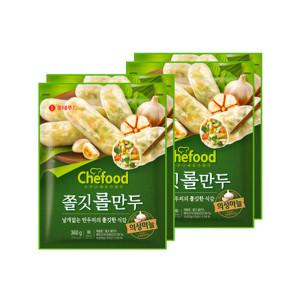 [롯데푸드] 쉐푸드 의성마늘 롤만두 360gx4팩