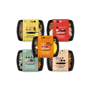 밀스원 바디케어밀 식단관리 도시락 5종 15팩 2주식단