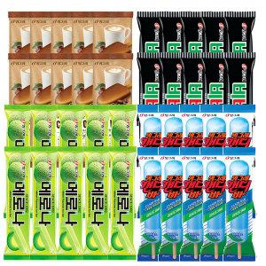 [빙그레] 유산슬 슈퍼콘 4종 16개 골라담기