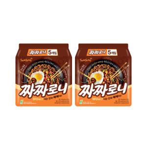 [삼양] 짜짜로니 140g 10봉 / 멀티 2팩