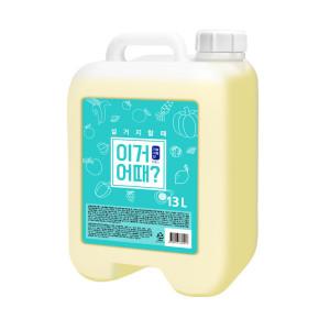 [아토세이프] 이거어때 주방세제(13L 1개)/젖병세정제/천연주방세제