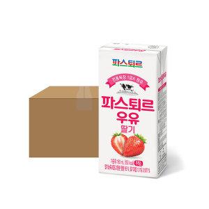 [파스퇴르] 파스퇴르 전용목장 190mL 딸기우유 24입