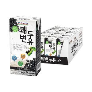 [10%쿠폰]파스퇴르 쾌변두유검은콩 190mlX24팩