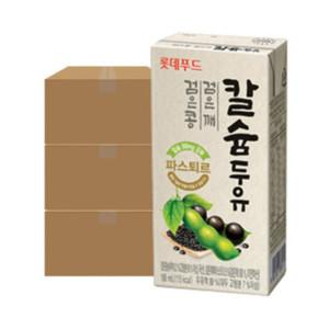 파스퇴르 검은콩깨칼슘두유 190mL 48팩