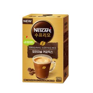 수프리모 커피믹스 110T+머그