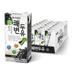 [쾌변] 파스퇴르 쾌변두유 검은콩 190mlx48팩