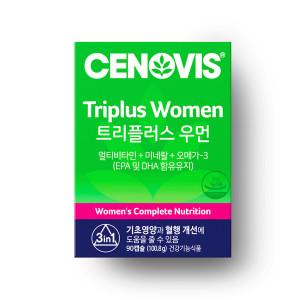 [세노비스] 여성 트리플러스우먼 멀티비타민미네랄 90캡슐