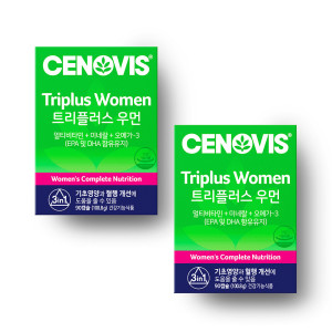 세노비스 여성트리플러스멀티비타민 2박스