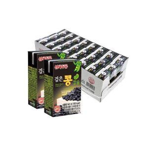 [삼육검은콩두유] 삼육 검은콩칼슘 두유 140ml x 72팩 건강음료
