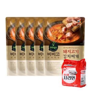 [비비고] 비비고 돼지고기 김치찌개 460G 5개