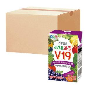 [썬몬드] 베지밀건강담은야채과일V19 145ml  48팩