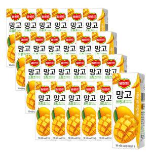 [롯데칠성] 델몬트 망고 드링크 190ml 24팩 2박스 (총 48팩)