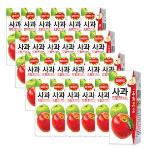 [롯데칠성] 델몬트  사과 드링크 190ml 24팩 2박스 (총 48팩)