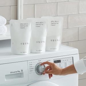 [생활공작소] 생활공작소 세탁조크리너 450g  4입(통돌이/드럼 겸용)